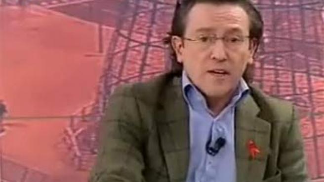 Hermann Tertsch, en el programa 'Diario de la Noche' de Telemadrid.