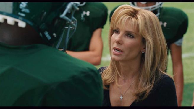 Sandra Bullock en una escena de 'The Blind Side'