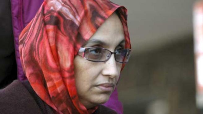 Aminatu Haidar, en huelga de hambre.