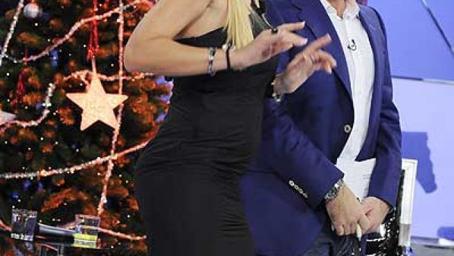 Una imagen de 'Sálvame Deluxe', uno de los valores de Telecinco.