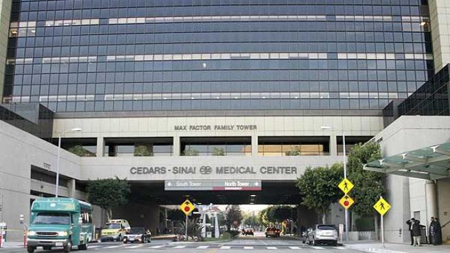 El hospital Cedars Sinai de Los Ángeles, California, donde está internado Johnny Hallyday.