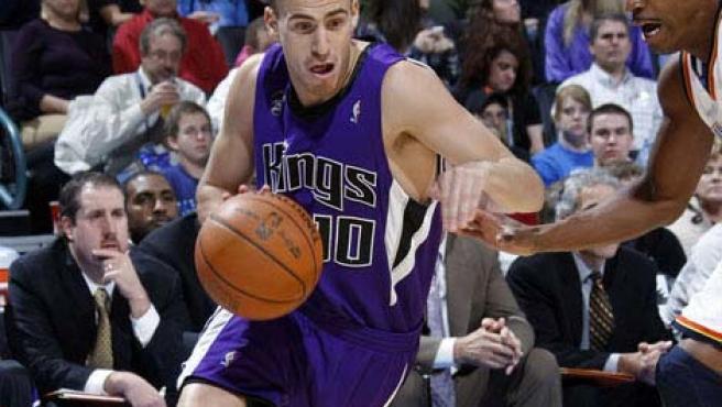 El base canario de Sacramento Kings, Sergio Rodríguez.