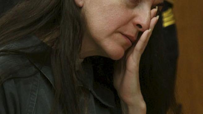 María José Carrascosa escucha la sentencia del juez de Nueva Jersey.