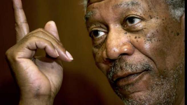EL actor estadounidense Morgan Freeman en una imagen de archivo. 20MINUTOS