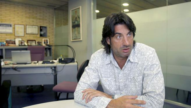 El presidente del DKV Joventut Jordi Villacampa.