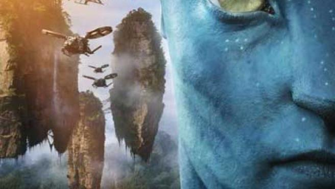 Un cartel de Avatar, de James Cameron.