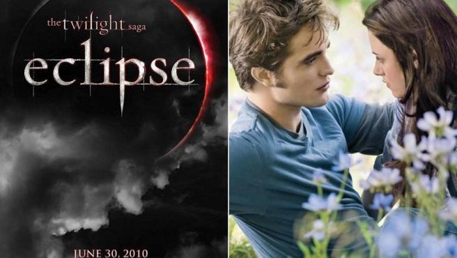 Cartel oficial y primera imagen de 'Eclipse' que se estrenará en los cines el próximo verano.