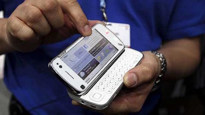 El Nokia N97 es el smartphone estrella de la compañía.
