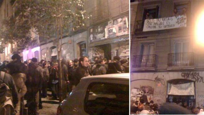 El nuevo inmueble de los colectivos del Patio Maravillas, en la calle Pez, 21.
