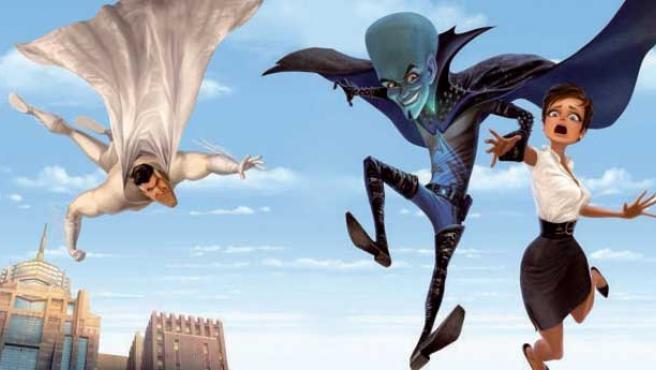 Primera imagen de la película de animación Megamind.