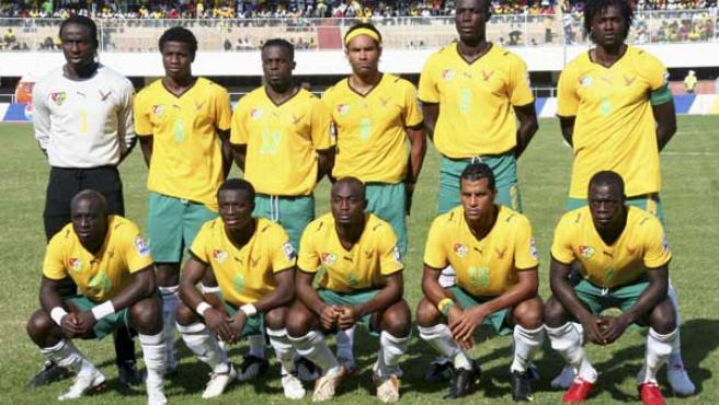 La selección de Togo, en una imagen de archivo.