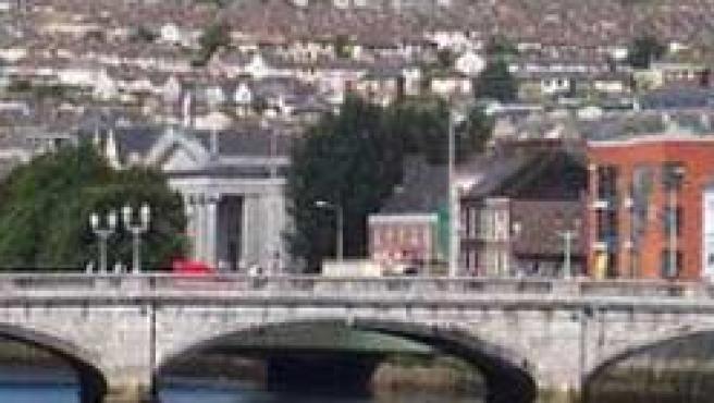 Uno de los puentes de Cork, la segunda ciudad de Irlanda.