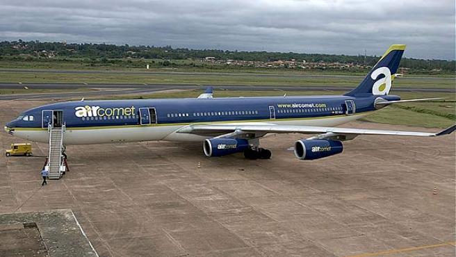 Un avión de Air Comet, en una imagen de archivo.