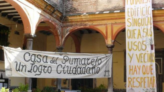 Jornada de actos en el palacio del Pumarejo