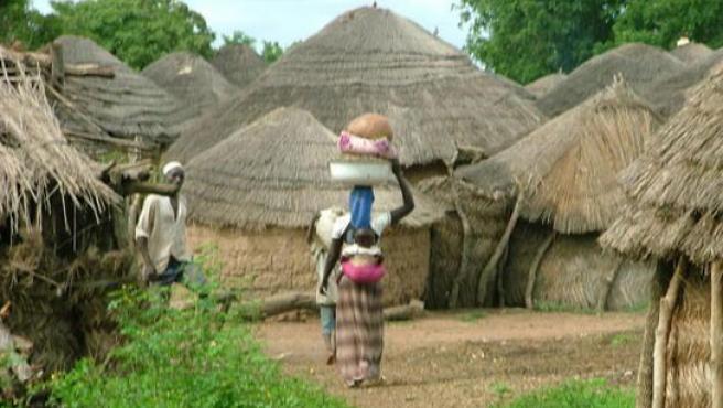 Poblado del norte de Ghana.