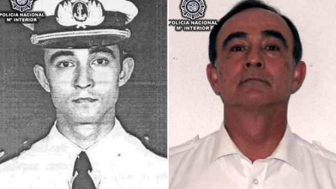 """Julio Alberto Poch, ex militar argentino detenido en España por su supuesta participación en los """"vuelos de la muerte""""."""