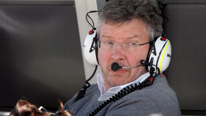 Ross Brawn, la pasada temporada en la Fórmula 1.