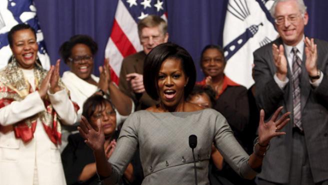 La fuerte personalidad de la primera dama norteamericana parece gustar a sus compatriotas.