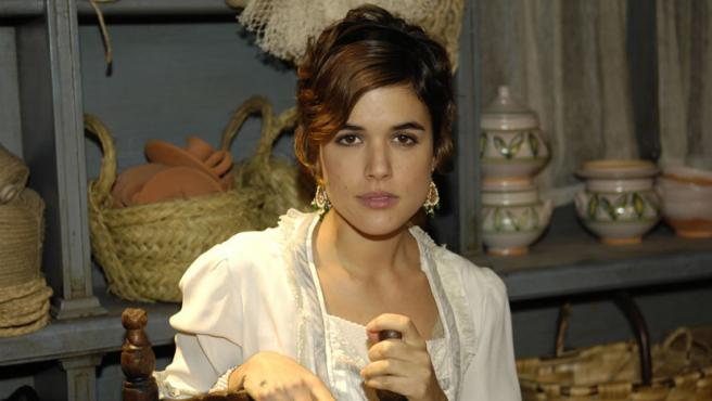 La actriz Adriana Ugarte, protagonista de 'La Señora'.