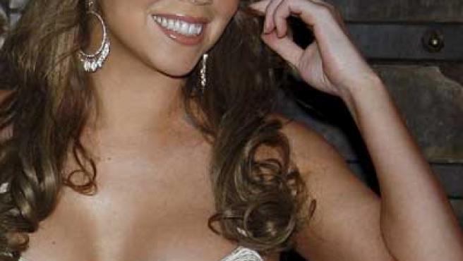 La cantante de R&B Mariah Carey.