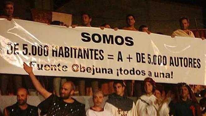 Habitantes de Fuente Obejuna contra la SGAE por reclamarles derechos de autor.