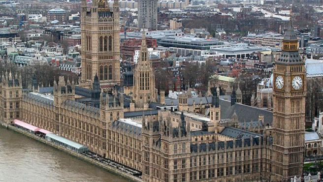 El Palacio de Westminster.