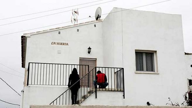 La vivienda de Almería donde se produjeron los hechos.
