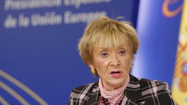 """La intención del nuevo reglamento es """"facilitar la vida de los ciudadanos"""", según la vicepresidenta De la Vega."""