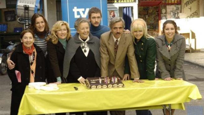 Actores que forman el reparto de la serie 'Cuéntame como pasó', de TVE.
