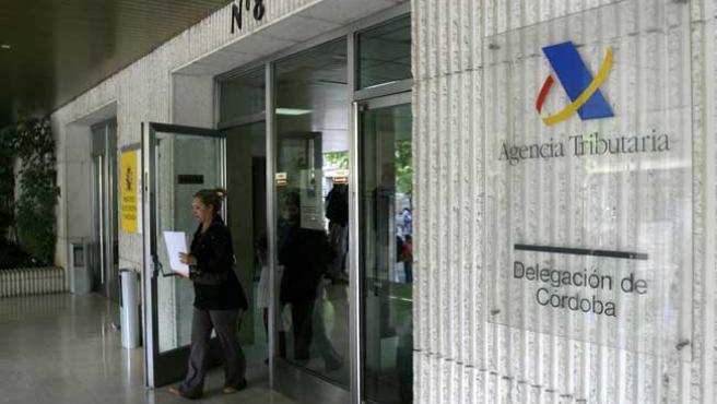 Oficinas de la delegación de Córdoba de la Agencia Tributaria.