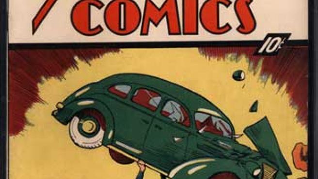 Número 1 del cómic 'Actions Comics'.