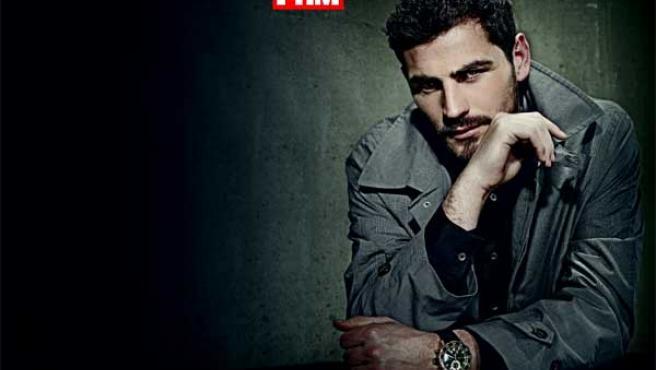 Iker Casillas, un chico de revista.