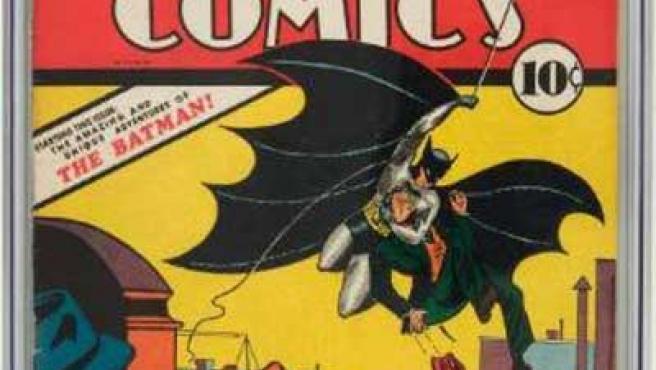 El cómic data de de 1939 y es la primera aparición del 'hombre murciélago'.