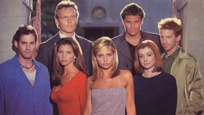Actores de 'Buffy Cazavampiros'.