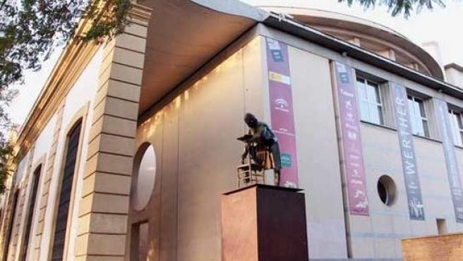 El teatro de la Maestranza, espacio clave en las celebraciones del Día de Andalucía.