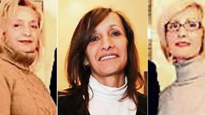 Las tres hermanas de origen turco, residentes en Alemania, que han recibido la enorme herencia.