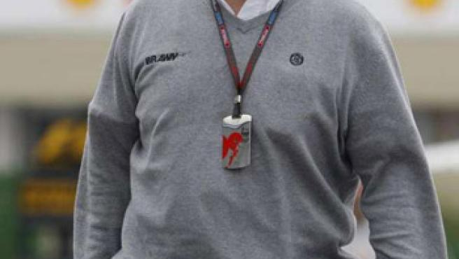 El jefe de la escudería Mercedes GP, Ross Brawn.
