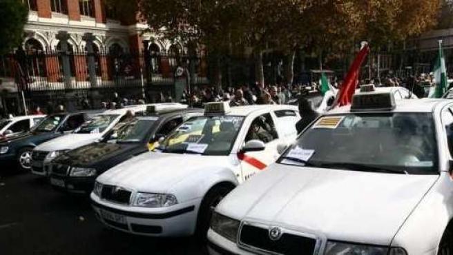 Taxis de Madrid.