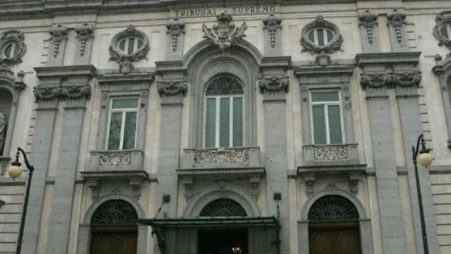 Imagen Del Tribunal Supremo, En Madrid
