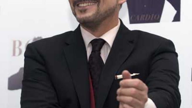 Miguel Bosé, en Ciudad de México.