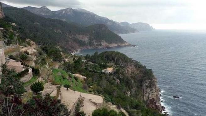 La isla de Mallorca.