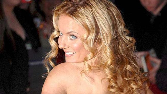 La ex 'Spice Girl' Geri Halliwell.