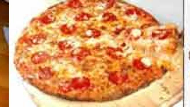 Comida basura: pizzas, hamburguesas y patatas fritas