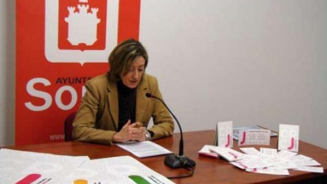 La Concejal De Educación Y Juventud, Rita López.