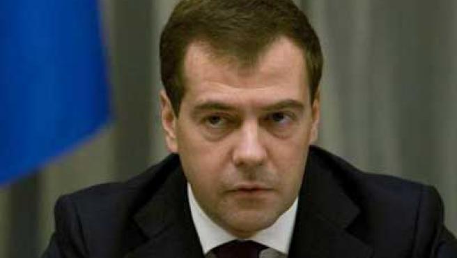 Dmitri Medvédev.