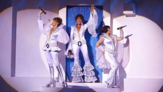 Las Dynamos del musicla 'Mamma Mia!'