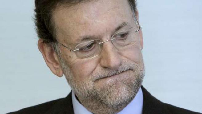 El presidente del PP, Mariano Rajoy, habla tras el levantamiento del secreto de sumario del 'caso Gürtel'.