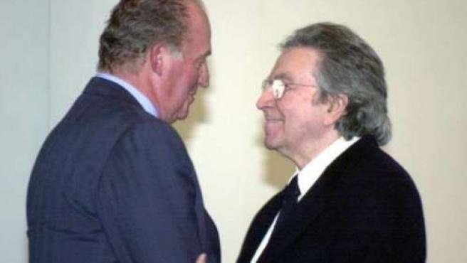 El rey Juan Carlos nombra marqués a Antoni Tàpies.