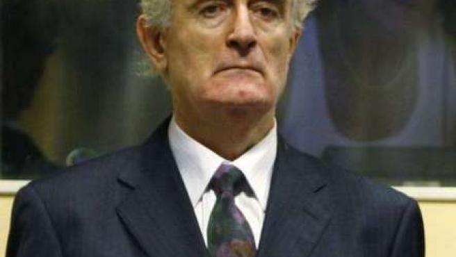Imagen de archivo de Radovan Karadzic.