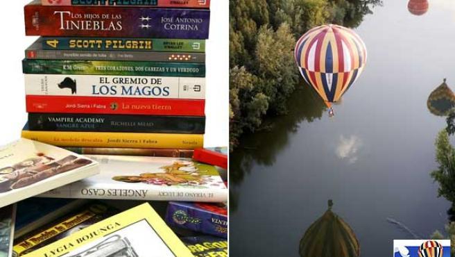 Un lote del libros y un viaje en globo son los premios del concurso.